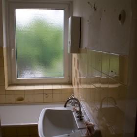 Bad vor der Sanierung