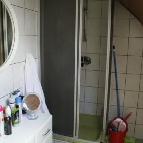 Duschbereich vor Sanierung