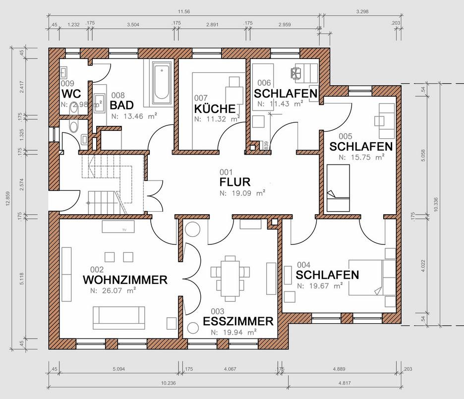 grundriss bema ung 2 kopie dipl ing gustavo oettinger. Black Bedroom Furniture Sets. Home Design Ideas