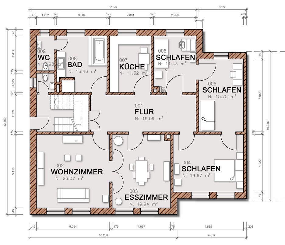grundriss bema ung kopie dipl ing gustavo oettinger. Black Bedroom Furniture Sets. Home Design Ideas