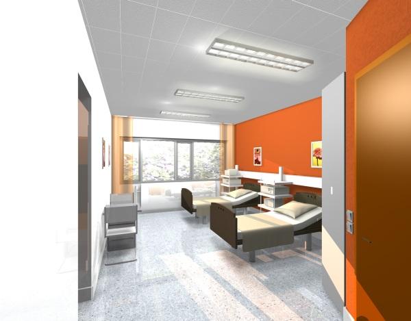 Salzgitter Klinikum - 2-Bett-Zimmer-Allgemeinpflege